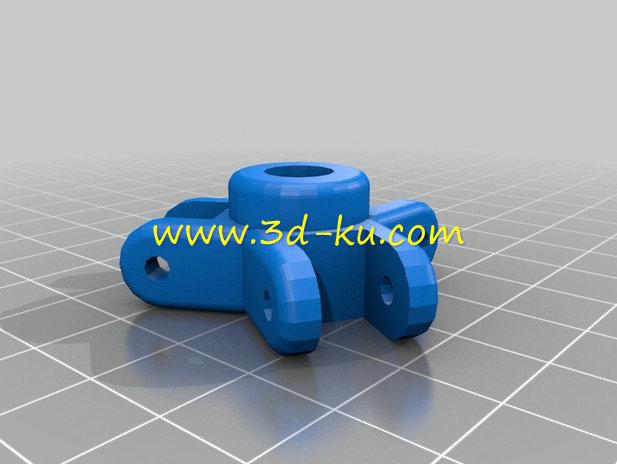外形酷似蜘蛛的蜘蛛阀-3D打印模型的预览图5