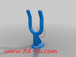 3D打印模型浴室吹风机壁挂的图片