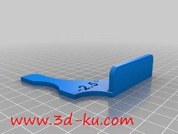 3D打印模型曲面的量规的图片