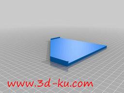 3D打印模型凝胶框架模板的图片