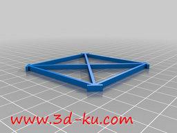 3D打印模型简单的索链的图片