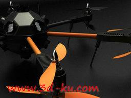 3D打印模型凸轮无人机的图片