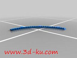 3D打印模型钟表齿轮机芯的图片