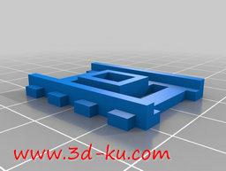 3D打印模型探测器轨道的图片