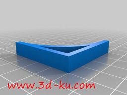 3D打印模型多个支架的图片