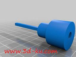 3D打印模型电机轴毂的图片