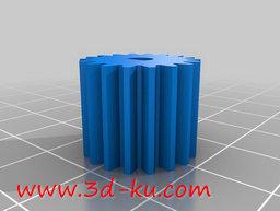 3D打印模型英寸径节:32齿18的图片