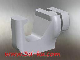 3D打印模型搁置钩的图片