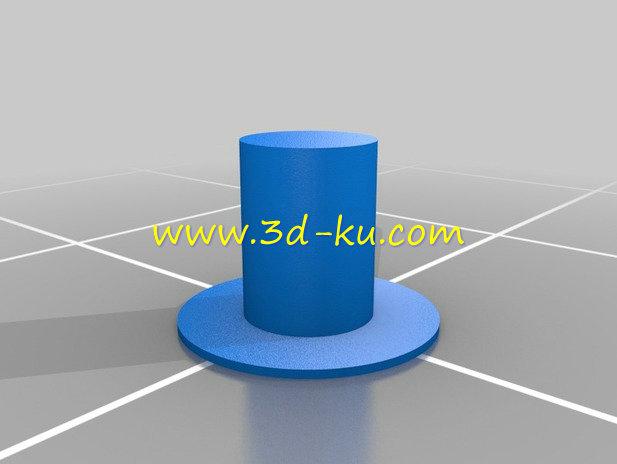 相机的机械虹膜光圈-3D打印模型的预览图6