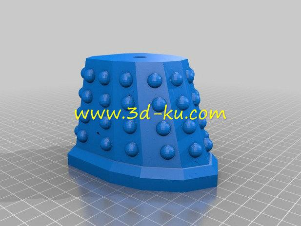 笨拙机器人-3D打印模型的预览图3