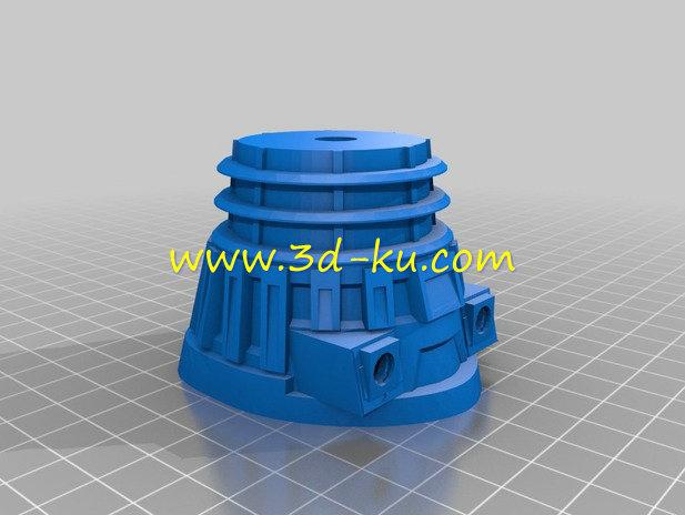 笨拙机器人-3D打印模型的预览图5