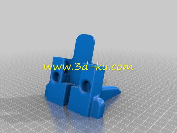 手机支架1-3D打印模型的预览图1