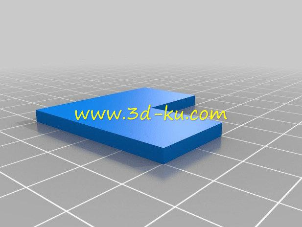 直角校准工具-3D打印模型的预览图2
