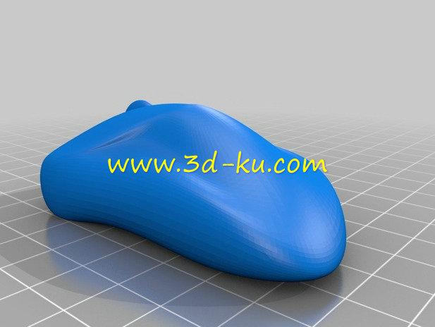 电脑鼠标的模型-3D打印模型的预览图1
