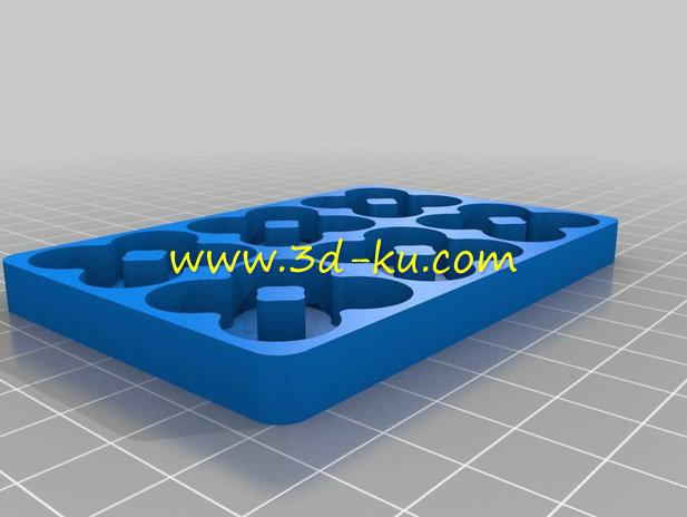 电池装置器-3D打印模型的预览图2