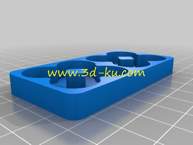 电池装置器-3D打印模型的预览图3