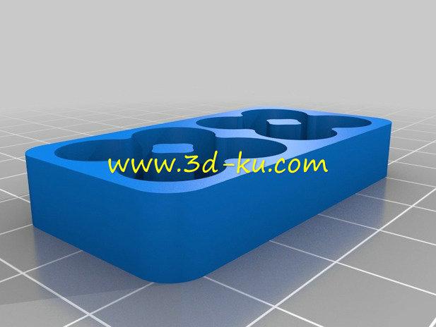 电池装置器-3D打印模型的预览图4