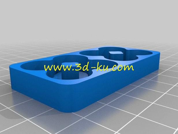 电池装置器-3D打印模型的预览图5