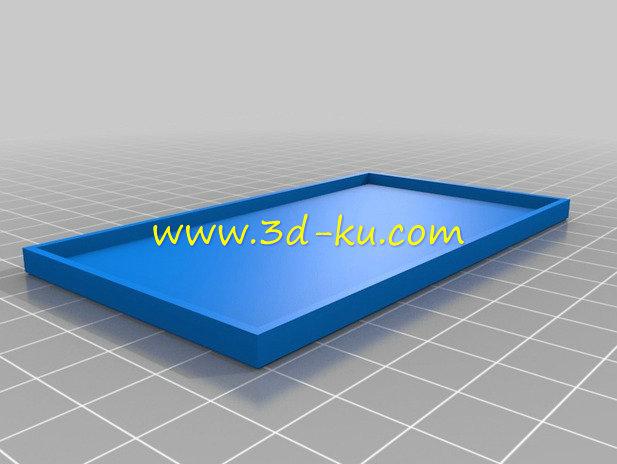 MP3 播放器-3D打印模型的预览图1