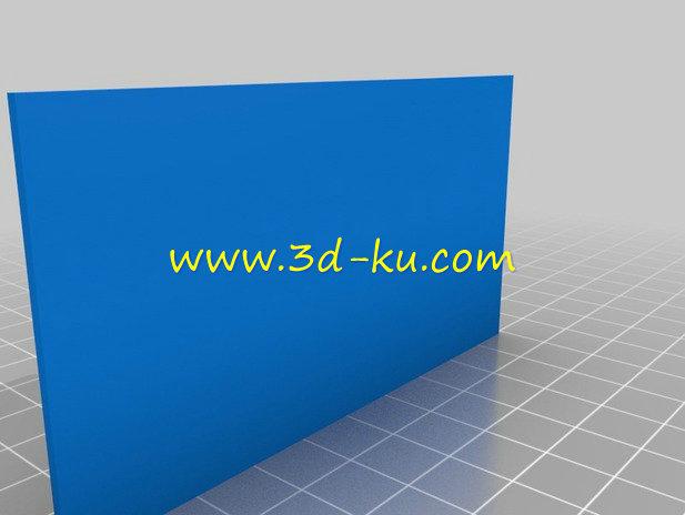 MP3 播放器-3D打印模型的预览图2
