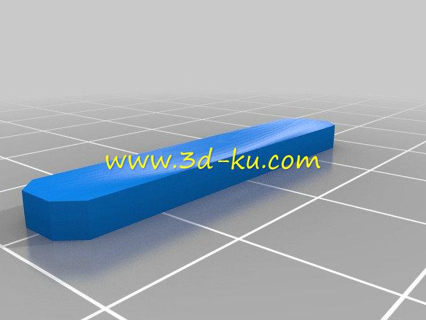 MP3 播放器-3D打印模型的预览图3