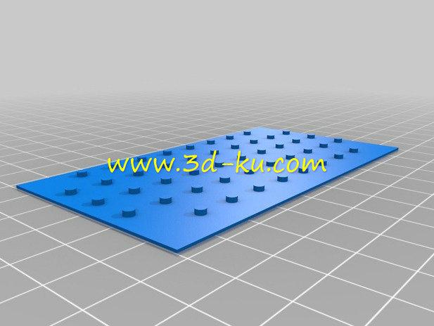 MP3 播放器-3D打印模型的预览图4
