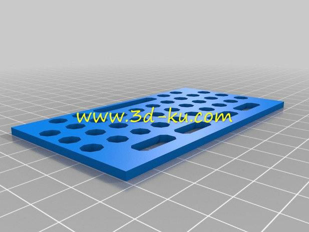 MP3 播放器-3D打印模型的预览图5
