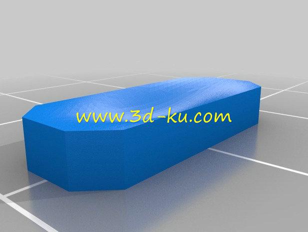MP3 播放器-3D打印模型的预览图6
