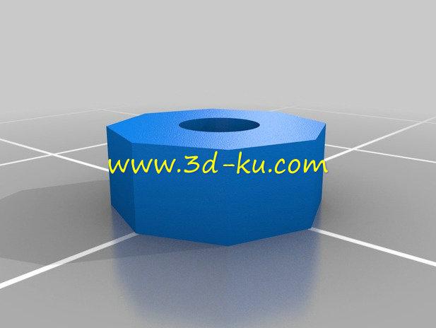 MP3 播放器-3D打印模型的预览图7