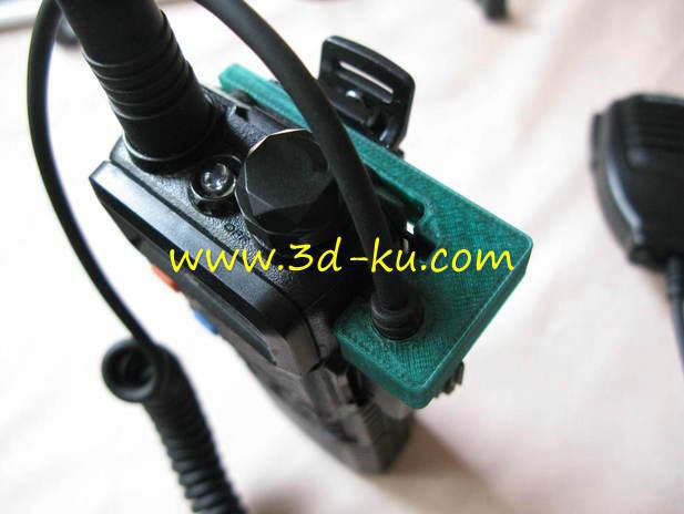 扬声器麦克风电缆支架-3D打印模型的预览图1