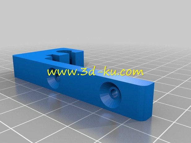 扬声器麦克风电缆支架-3D打印模型的预览图2
