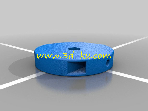 投影仪的投影透镜组件-3D打印模型的预览图2