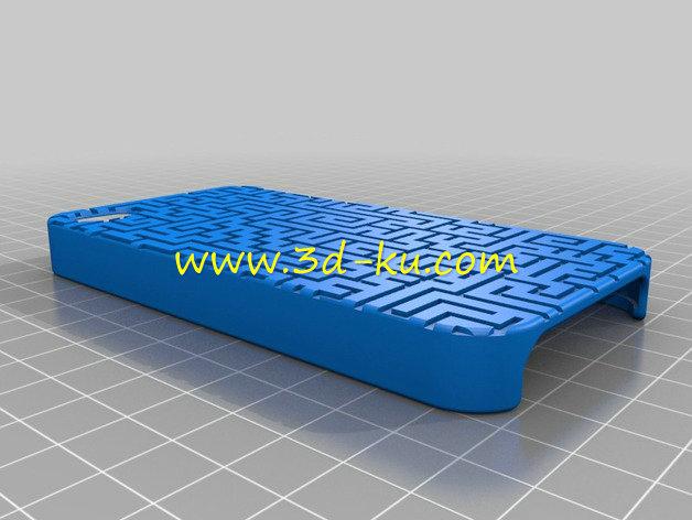 手机盒-3D打印模型的预览图2