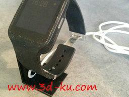3D打印模型Sony智能手表架的图片