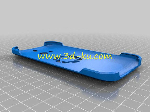 HTC one M8 手机壳-3D打印模型的预览图2