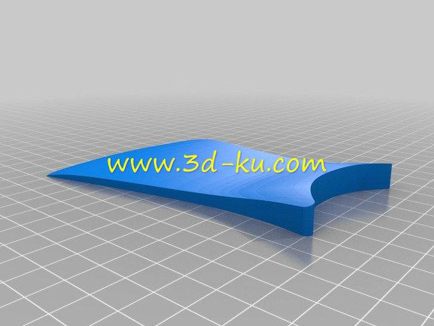 空间导航手枕-3D打印模型的预览图2