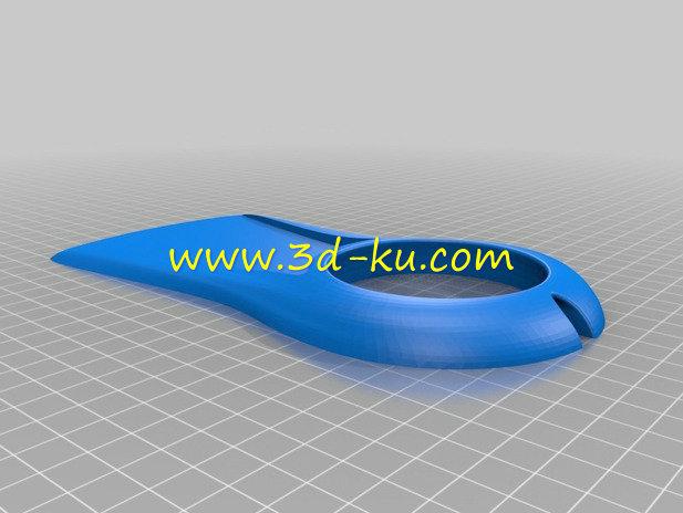 空间导航手枕-3D打印模型的预览图3